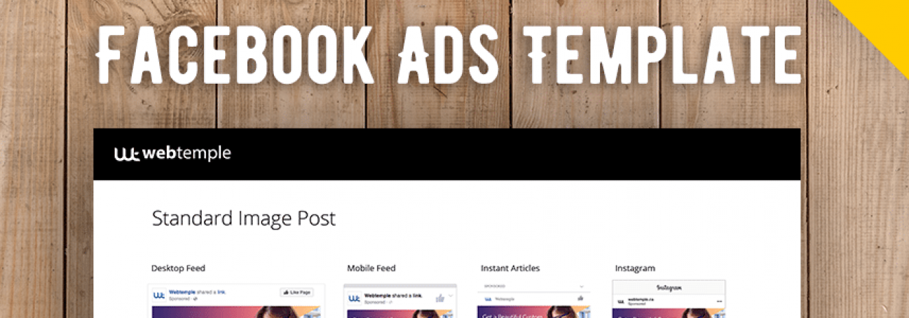 FREE: Facebook Ads Template